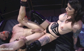 Chelsea marie flogs and flip-fucks with d. arclyte