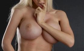 Seductive giant titted hottie kimber james posing