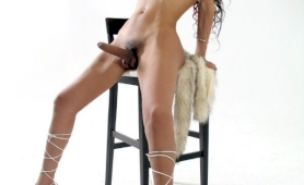 enormous dong ethnic tgirl