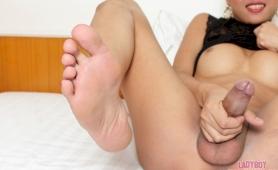 transexual foot fetish