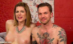 Delia delions dominant tgirl releases will havoc from chastity
