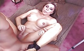 Legs Up To Fuck Like A Girl, Sweet Teets Shemale